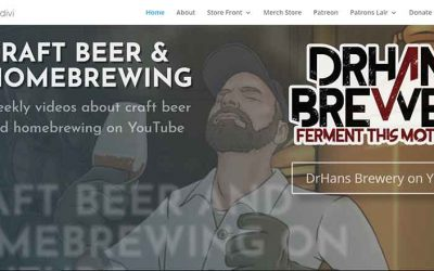 The New DrHans Brewery Website